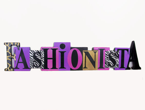 Fashionista Word Accent4walls